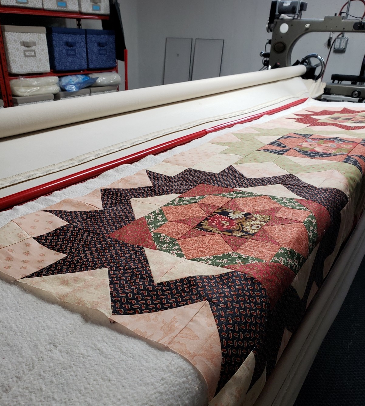 Books and Long Arm Quilting