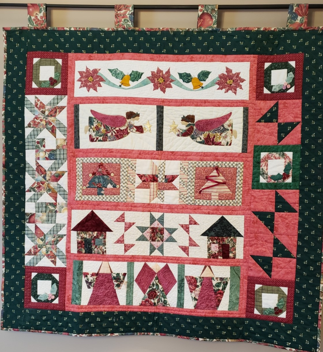 Round Robin Quilt: A Row-By-Row Christmas