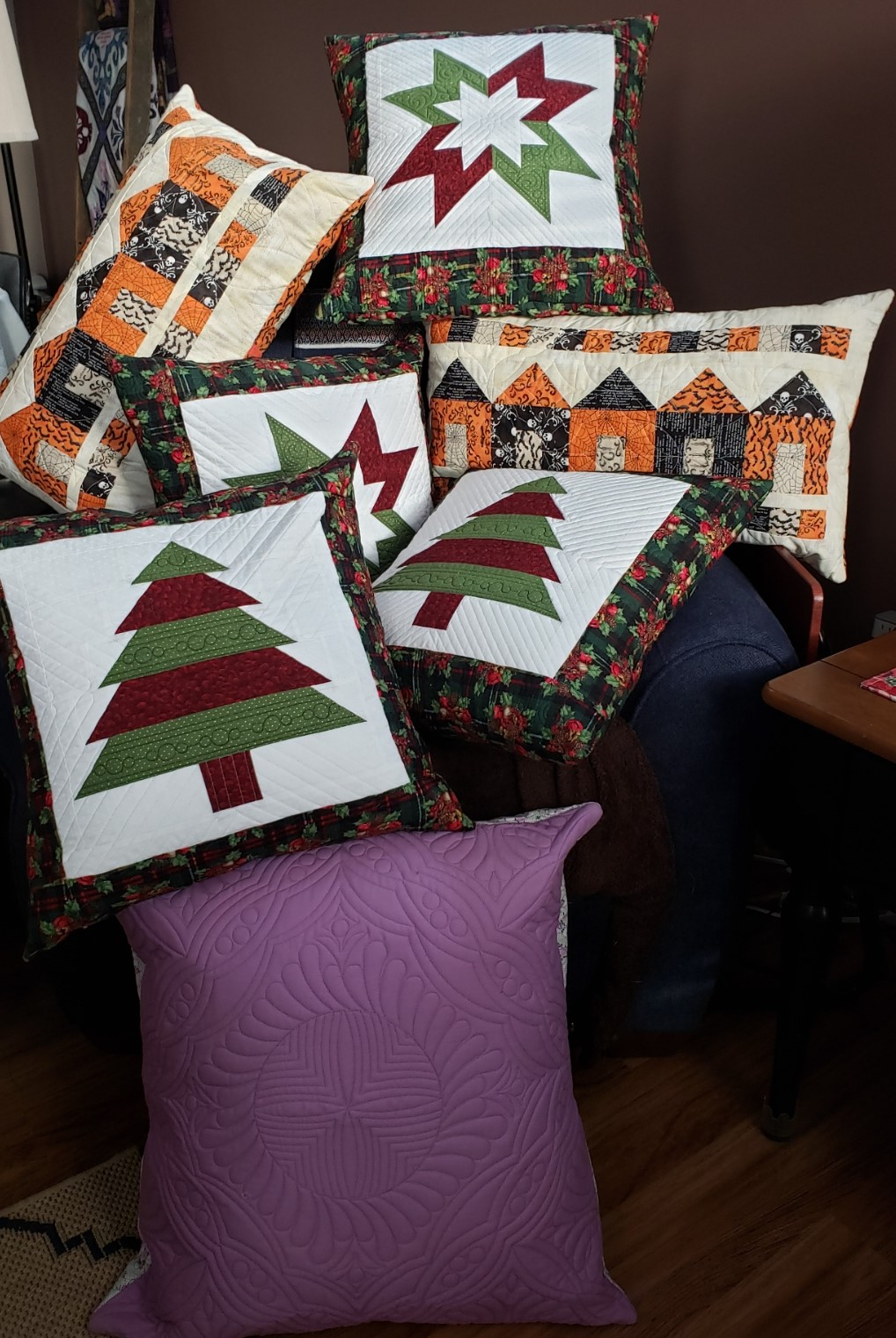 Quilted Pillow – Easy Instructions