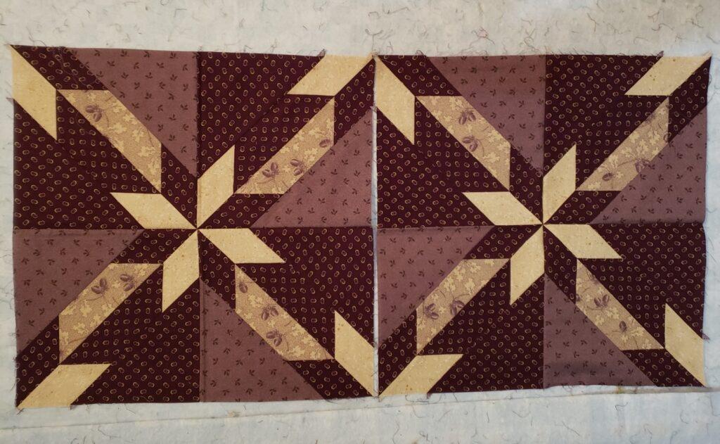 Quilt Design Wall - Hunter's Star