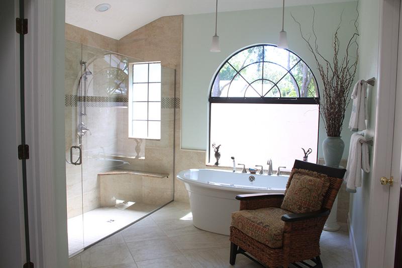 Bathroom Remodel in Palm Harbor - Bognoloa Project 2 - Golden Construction