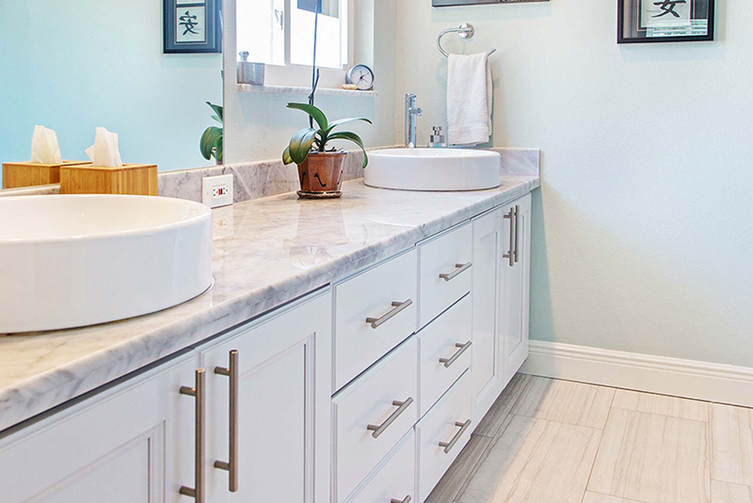 Bathroom Renovation in Palm Harbor Florida by Golden Construction Services