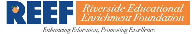REEF - Riverside Educational Enrichment Foundation Logo