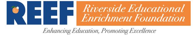 REEF - Riverside Educational Enrichment Foundation Logo