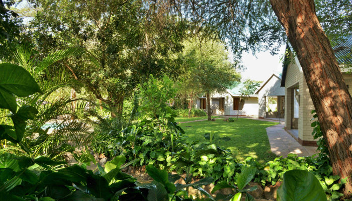 Chalet accommodation on the Chobe River