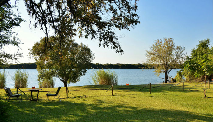 Double Chalet with views of the Chobe River