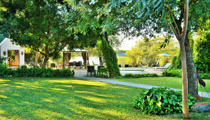 Family Chalet with views of the Chobe River