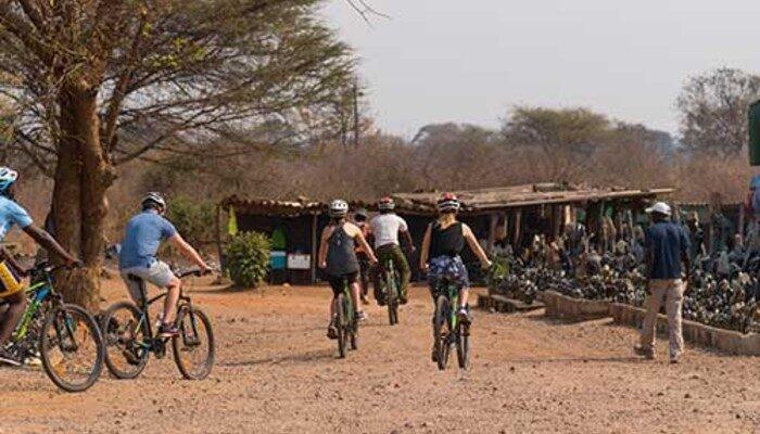 Kazungula Village Bicycle Tour