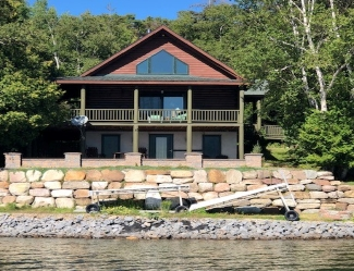 Chazy Lake Custom Home