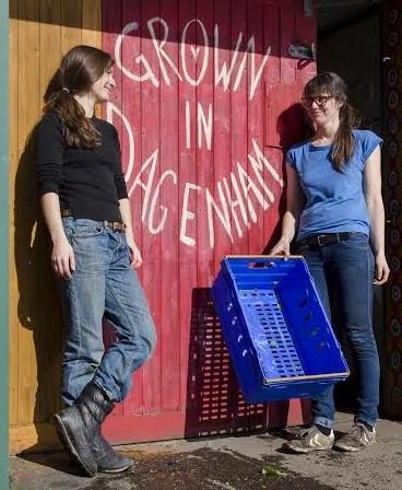 Alice Holden & Hannah Schlotter. Photo by Joseph Thompson.