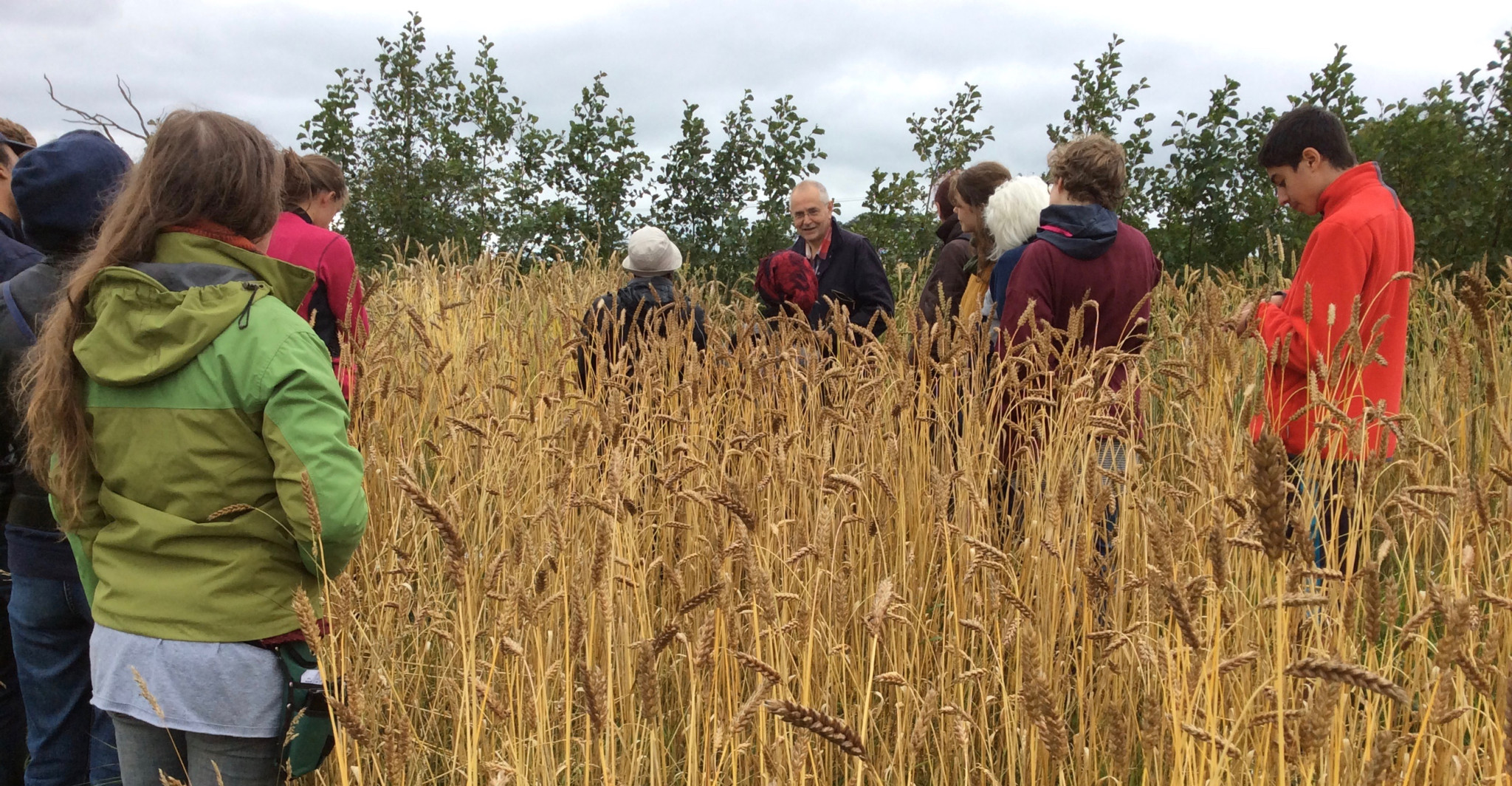 Granton Community Growers visit