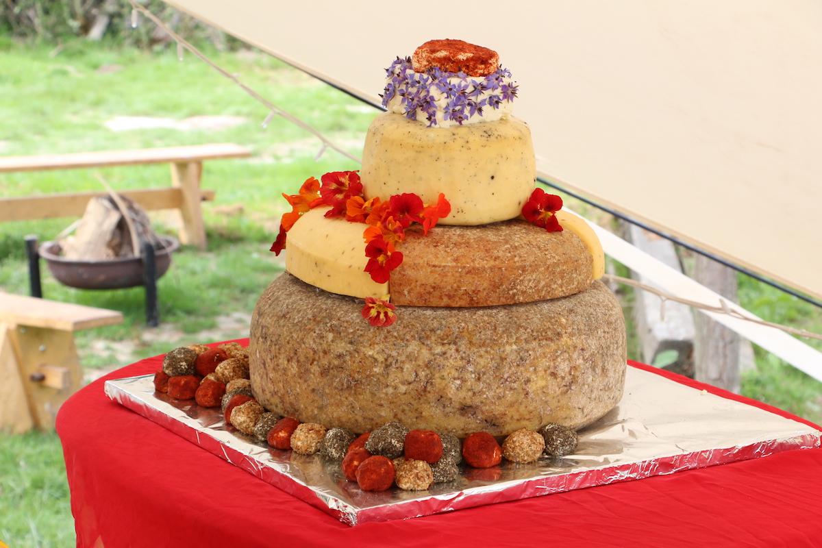 Plaw Hatch Wedding Cheese Cake