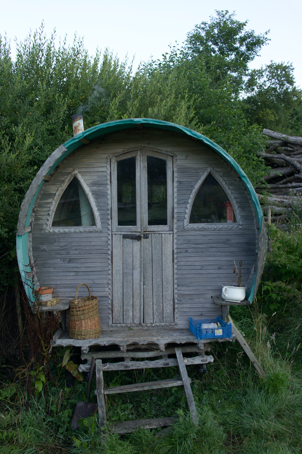 quirky hut