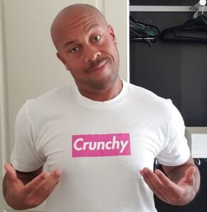 Jamar Ramos in Crunchy Links shirt
