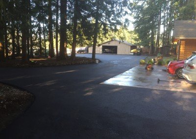 New Asphalt Driveway Pave