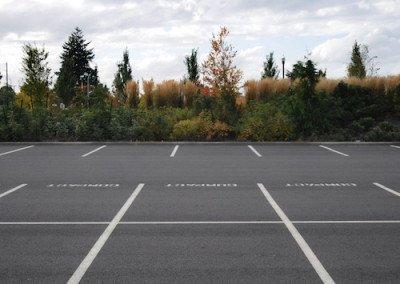 Striping Parking Lot