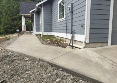Exterior Concrete – Flatwork and Stairs