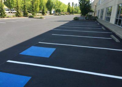 Reserved Parking Spot Process