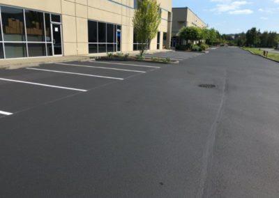 Large New Parking Lot