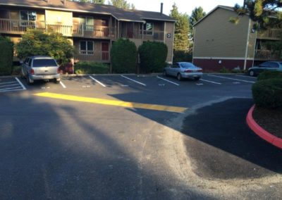 Asphalt Patch and Striping