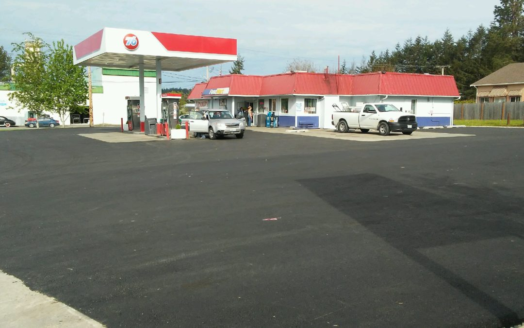 Asphalt Repair at Arnold's Gas Station
