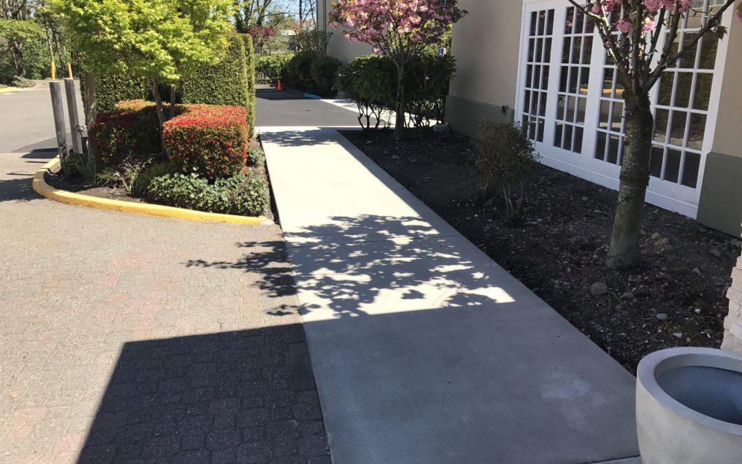 Concrete Sidewalk Repair in Tukwila
