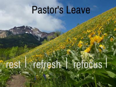 Pastor's Rest Leave