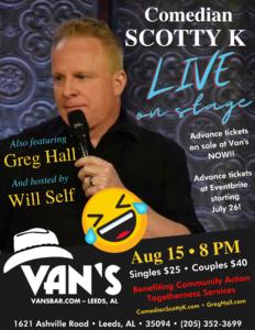 Scotty K LIVE at Van's