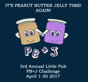 little pub peanut butter and jelly challenge