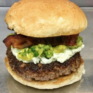 Little Pub Green Onion Burger