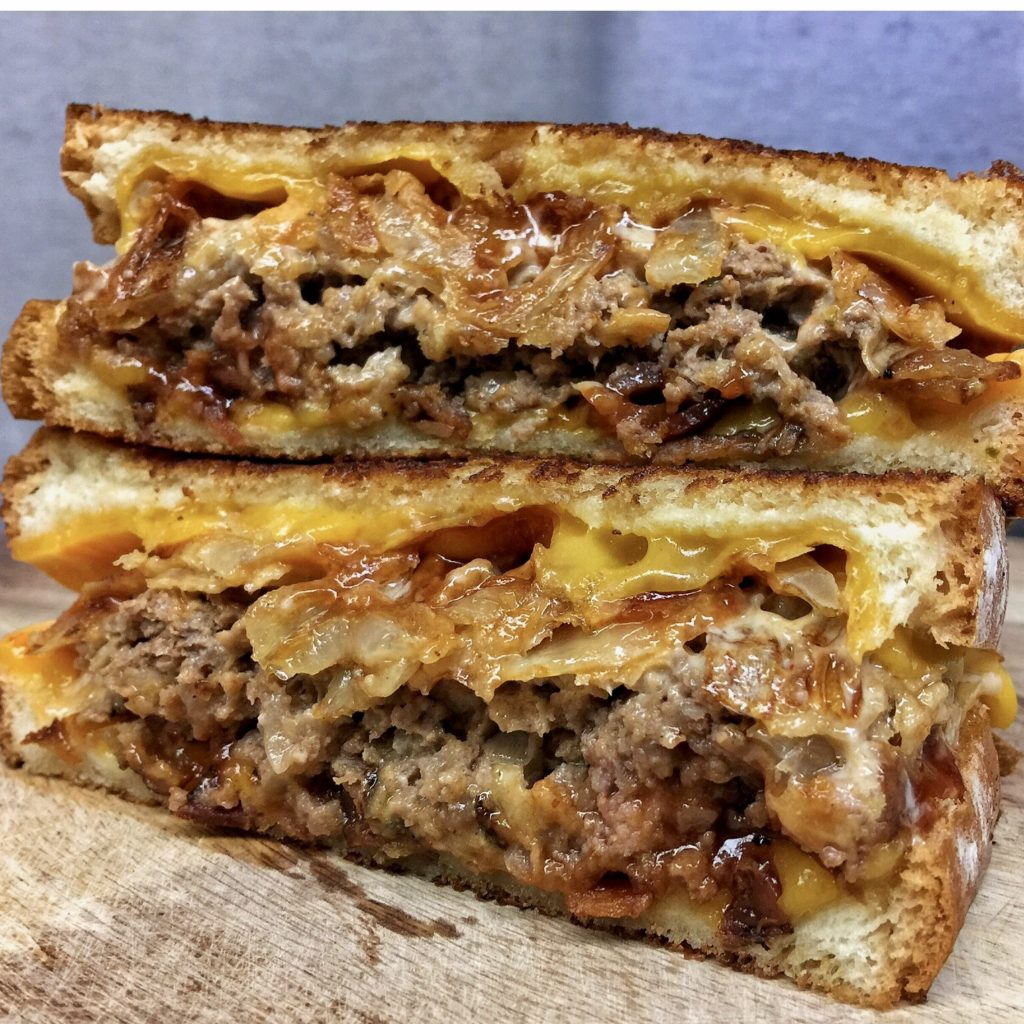 little pub meatloaf grilled cheese