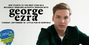 george ezra plays at little pub fairfield