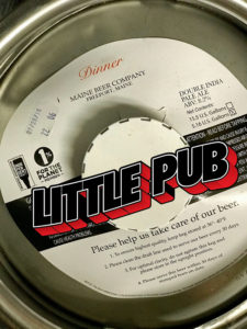 maine beer dinner on tap at little pub