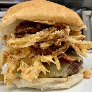buffabacon crunchburger at little pub