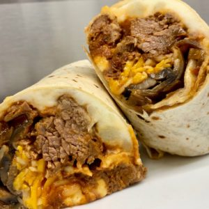 little pub pot roast burrito