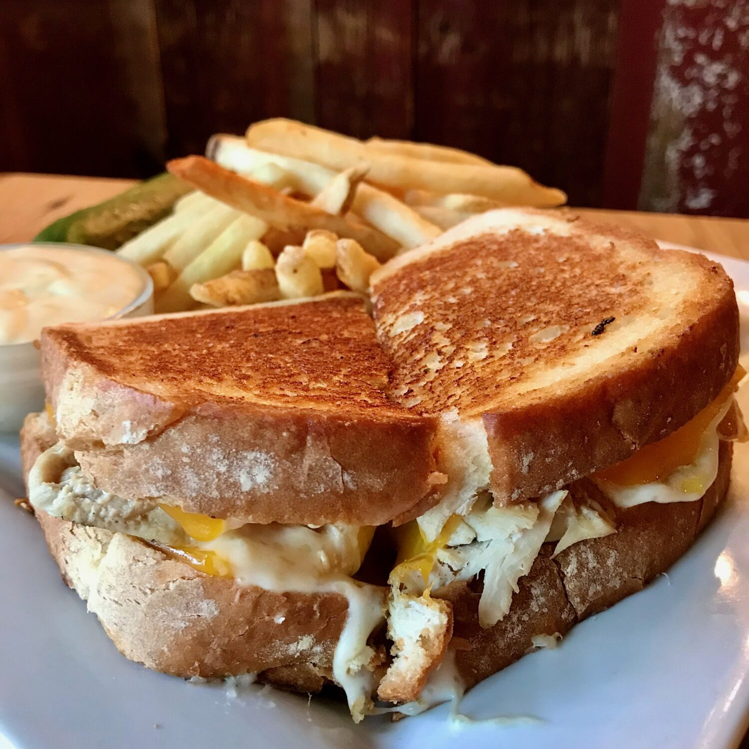 Louisville Hot Grilled Cheese