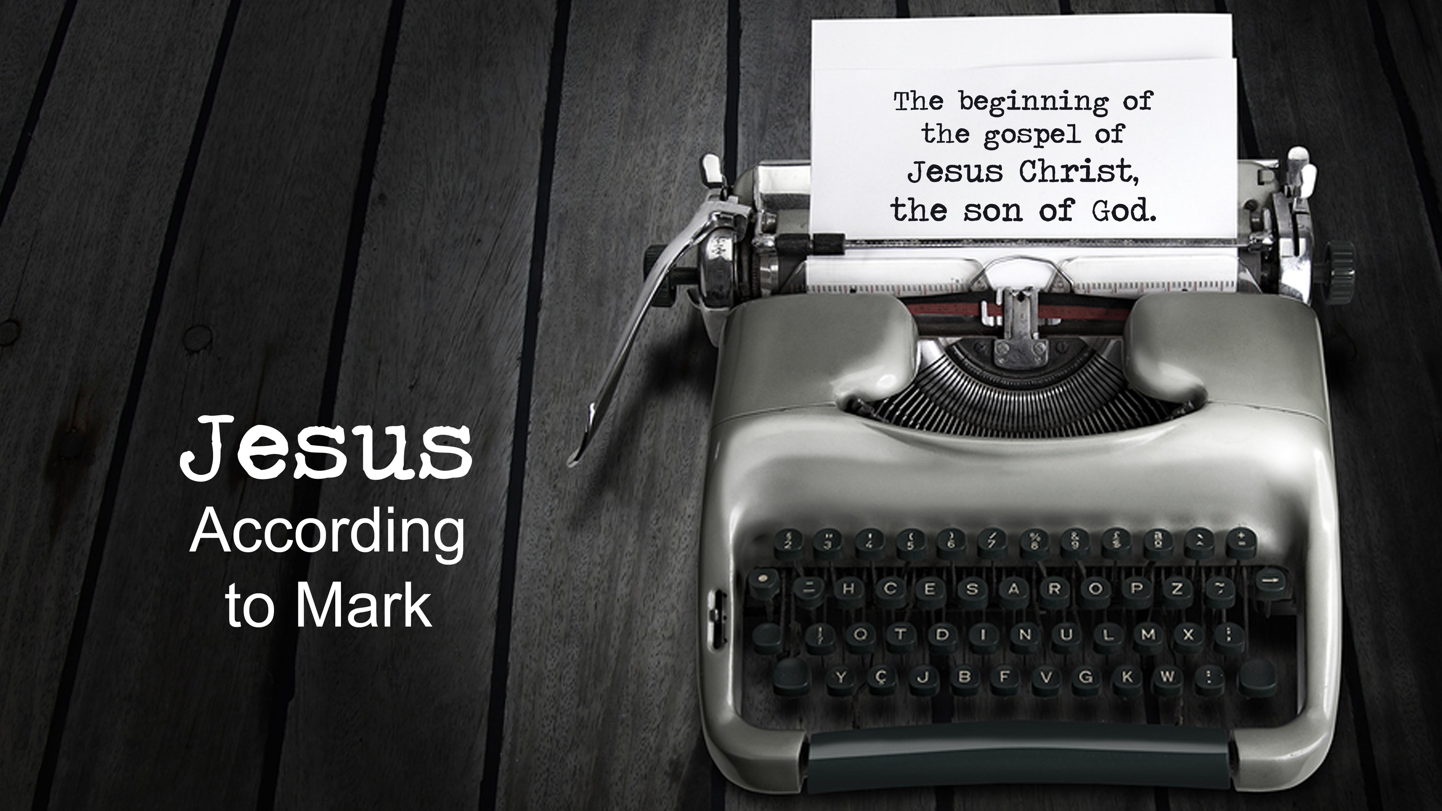 Mark 9:38-41