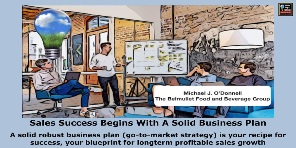 Sales Success Begins With A Solid Business Plan