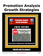 #17 Promotion Analysis Growth Strategies