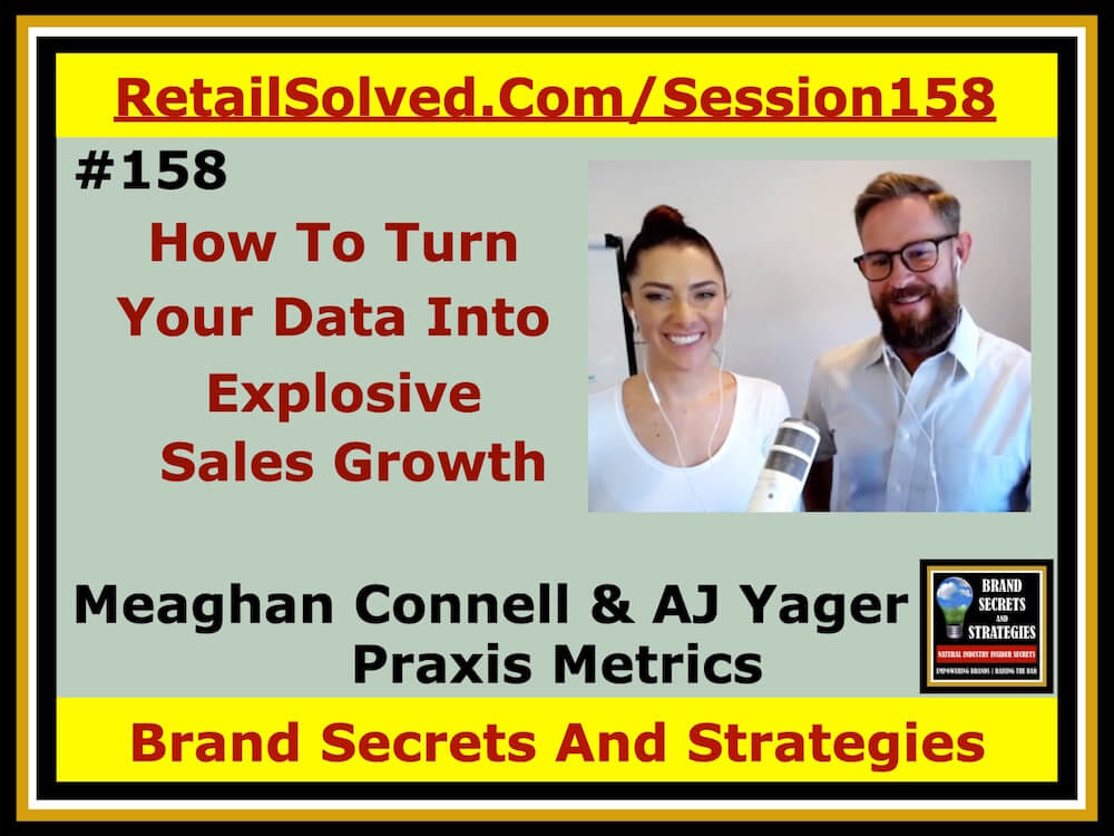 SECRETS 158 Meaghan Connell & AJ Yager With Praxis Metrics, How To Turn Your Data Into Explosive Sales Growth