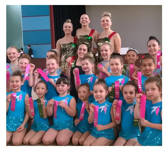 Elite Gymnastics Gold Coast comp