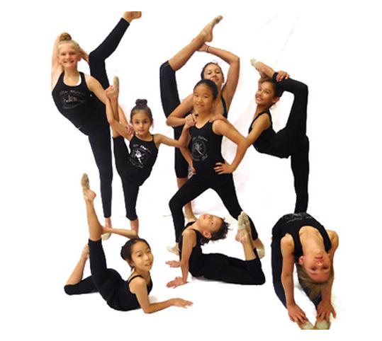 Elite Gymnastics Gold Coast group