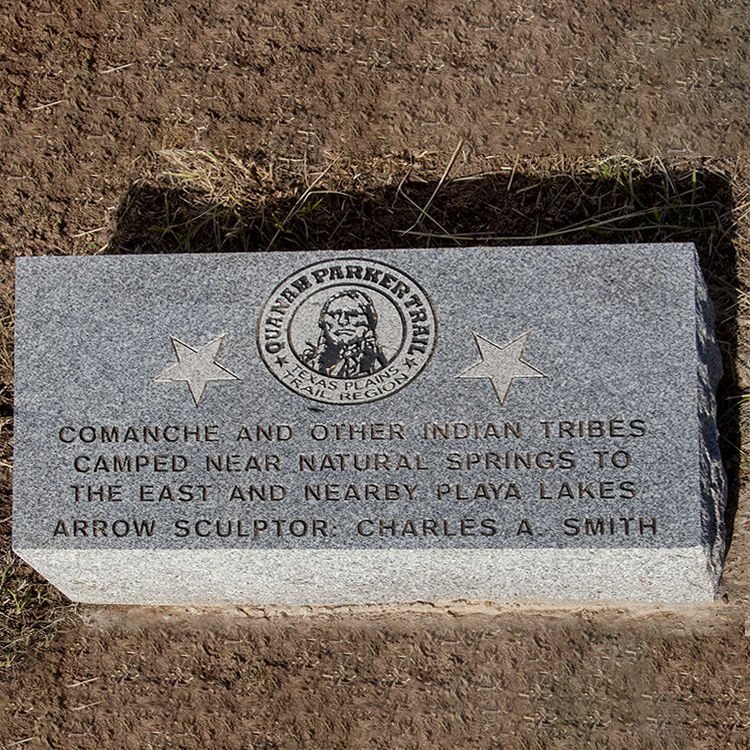 Quanah-Parker-Trail-Marker-PlayaLakes