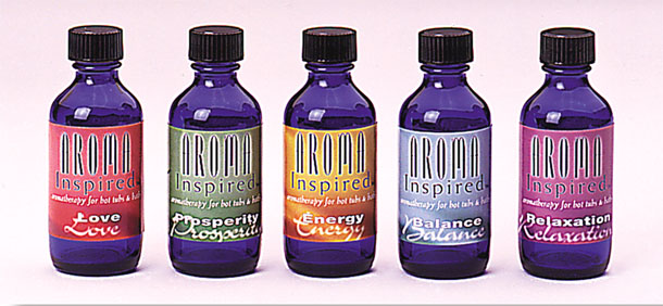 Aroma Inspired oil Packaging and labels