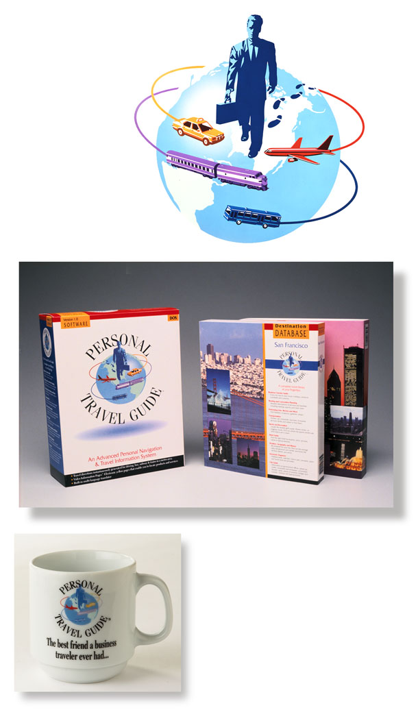 Consumer packaging for Personal Travel GPS