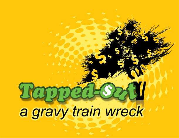 Title card for TV reality show for Tapped-Out