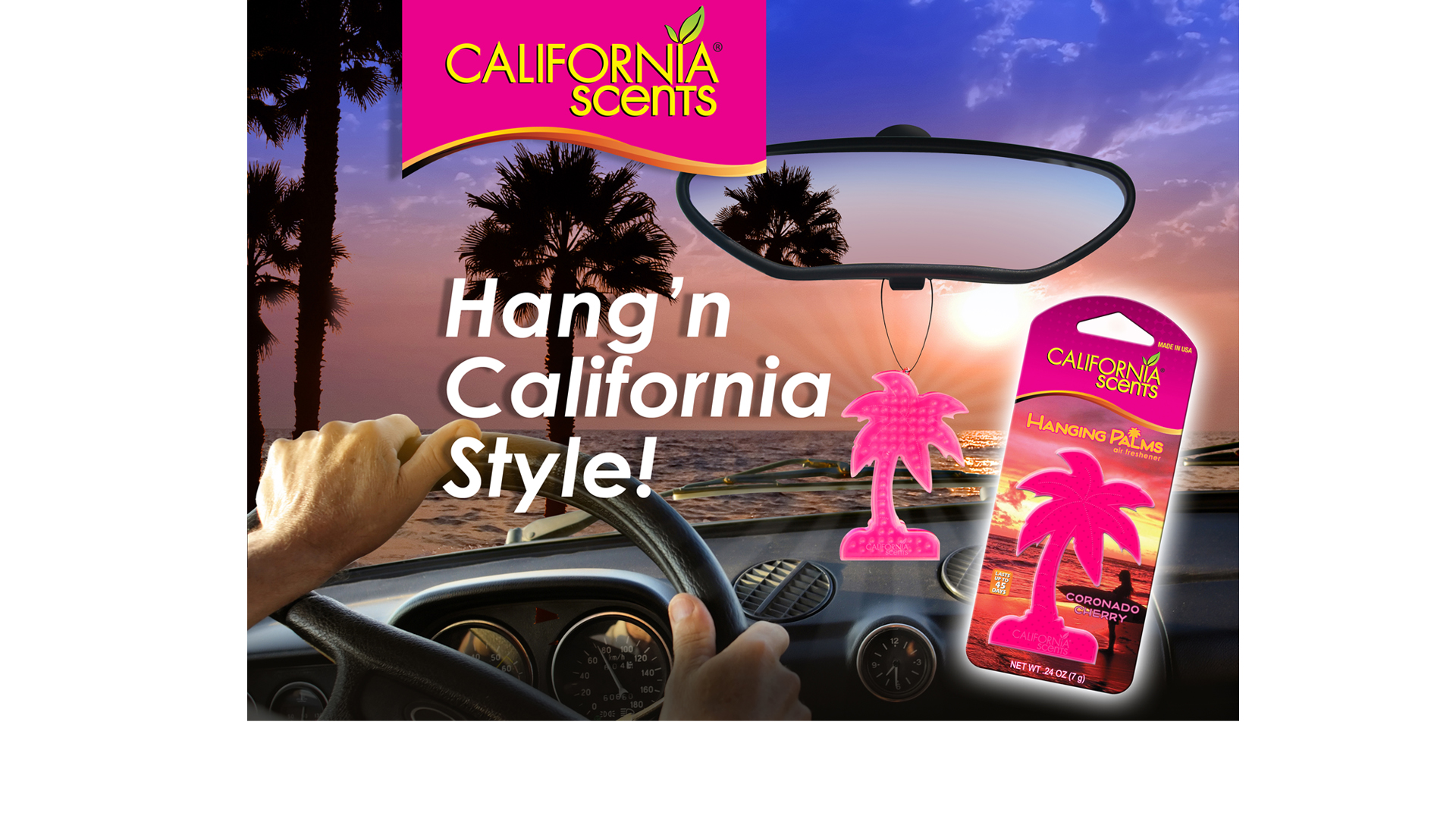 California Scents Air Freshener Social Media Content image.