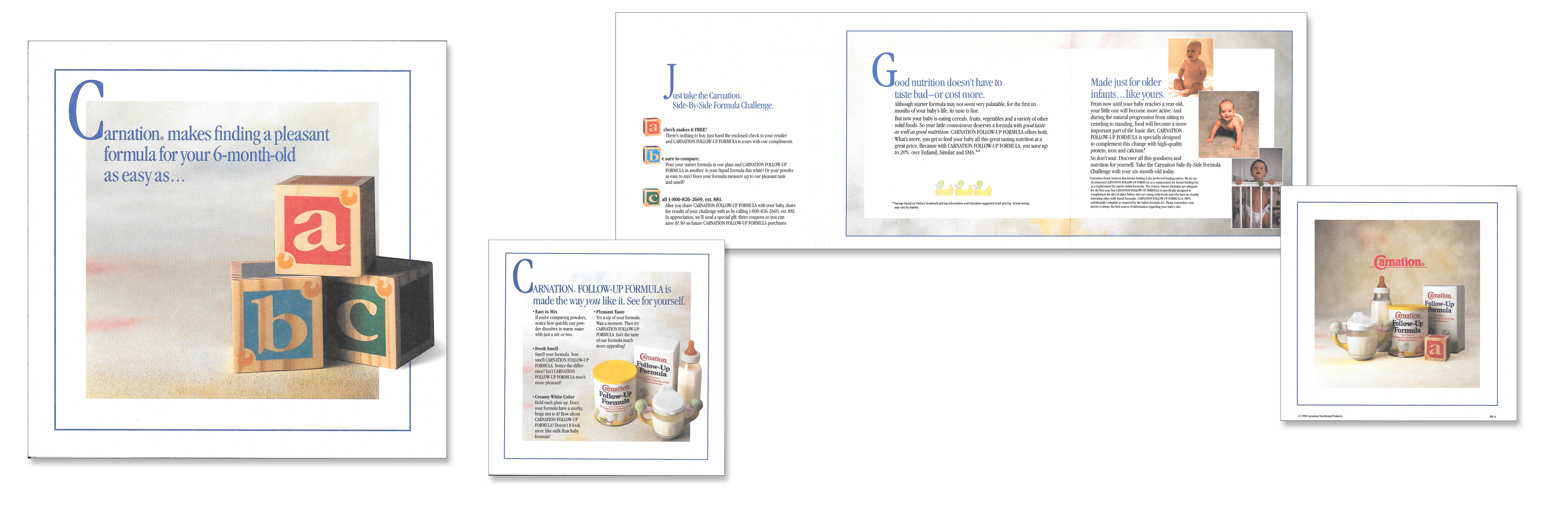 Carnation Baby Formula Pharmaceutical Direct Mail