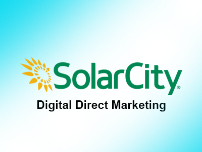 SolarCity Digital Direct Marketing