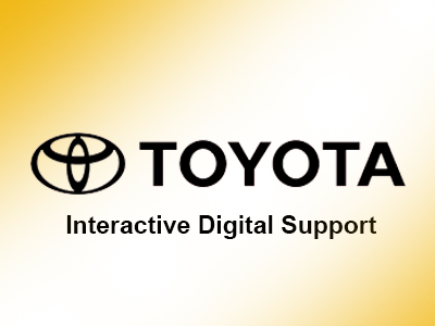 Toyota Event Interactive Digital Design